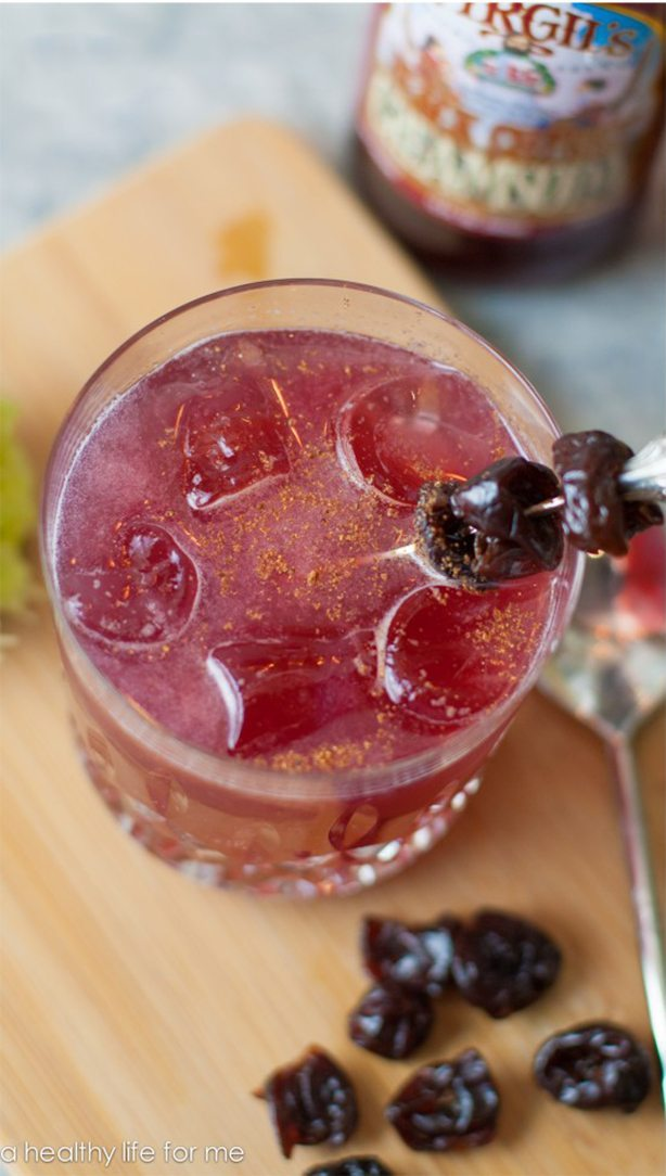 Black Cherry Sling Cocktail Recipe   ahealhtylifeforme.com