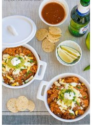 Chipotle Pork Burrito Bowl Recipe | ahealthylifeforme.com