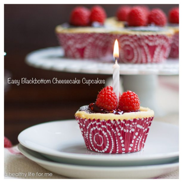 Easy Blackbottom Cheesecake Cupcakes