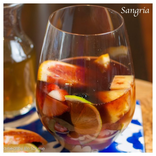 Sangria How to Make at www.ahealthylifeforme.com