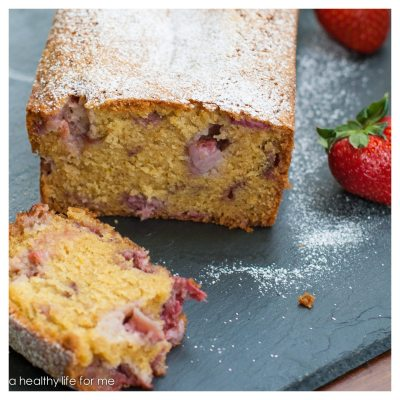 Strawberry Almond Breakfast Bread