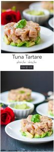 Tuna Tartare Recipe | ahealthylifeforme.com