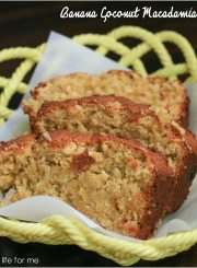 Banana Coconut Macadmia Bread 3