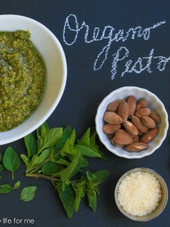 Oregano Pesto