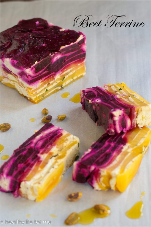 Beet Terrine Recipe | ahealthylifeforme.com