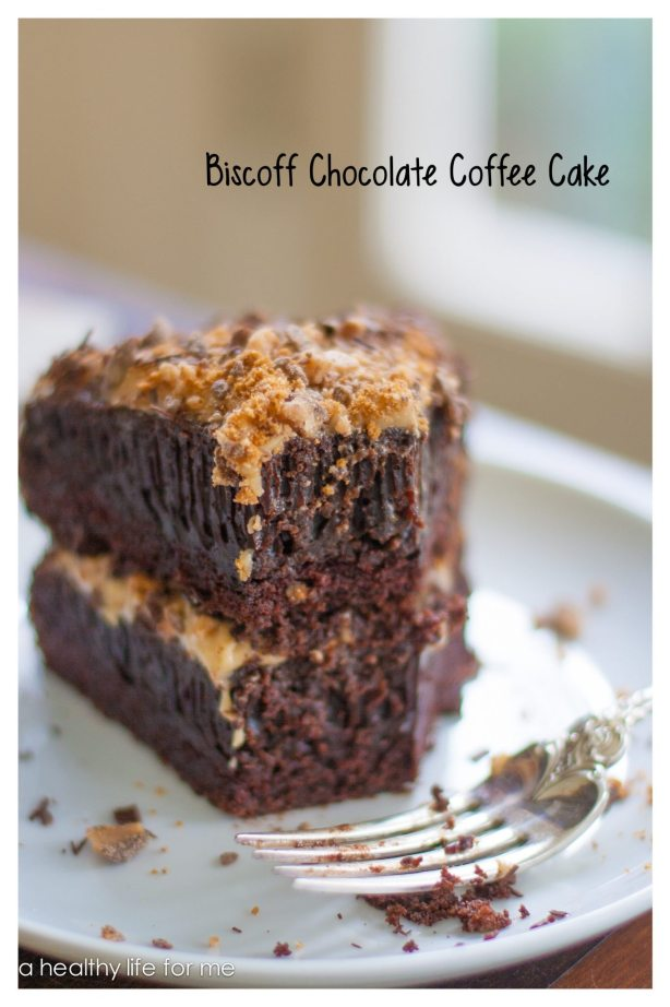 Biscoff Chocolate Coffee Cake