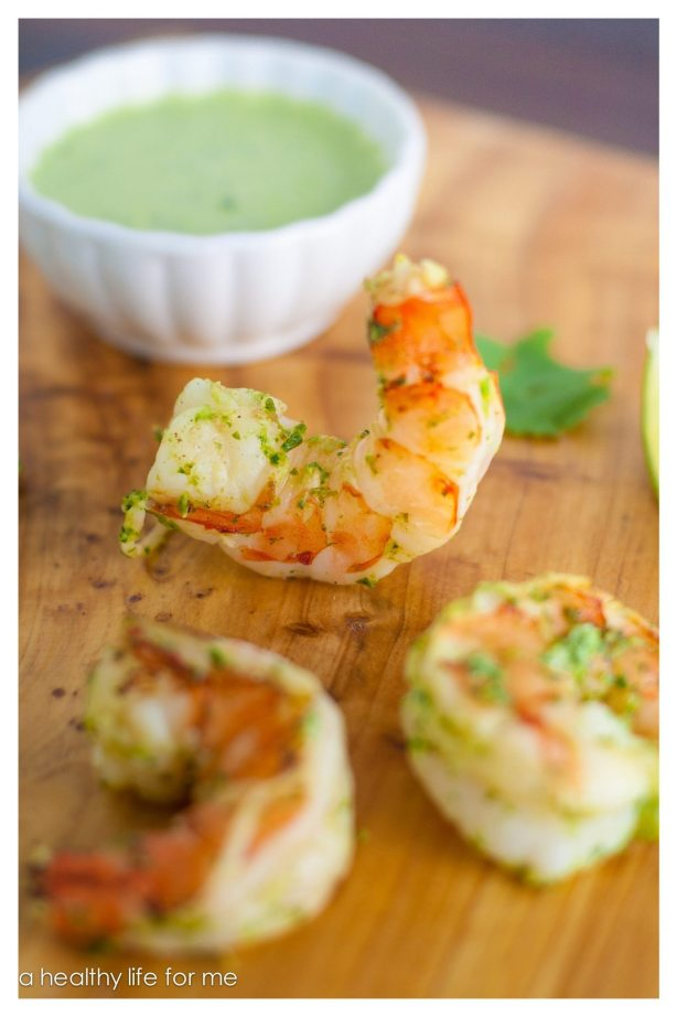 Shrimp Grilling Jalapeño Herbs Sauce