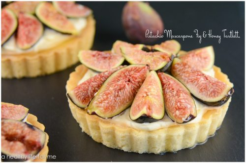 Mascarpone Fig and Honey Tart Recipe | ahealthylifeforme.com