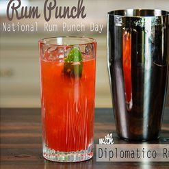 National Rum Punch Cocktail Day