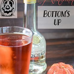Autumn Bottom's Up Cocktail