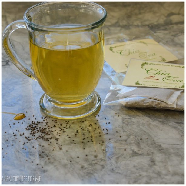 Chia Tea Chia Seeds Healthy Life