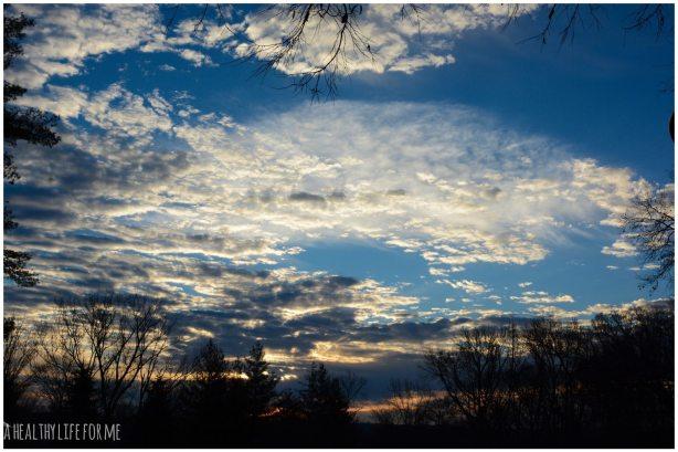 Sunrise with Amy Stafford in Cincinnati