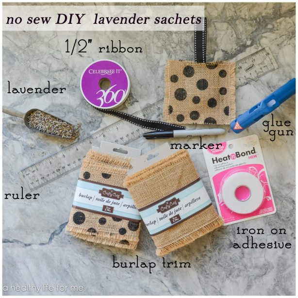 supplies for no sew lavender sachets copy great gift ideas