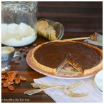 CHOCOLATE HONEY PECAN TART