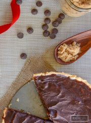 Honey Caramel Pecan Tart Recipe | ahealhtylifeforme.com