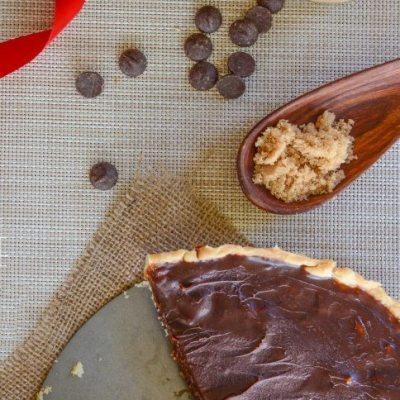 Chocolate Honey Caramel Tart