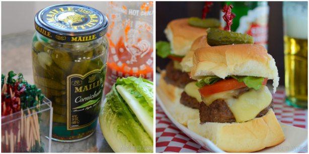 Buffalo Sliders Healthier Superbowl Recipe
