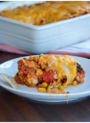 Turkey Chili Casserole