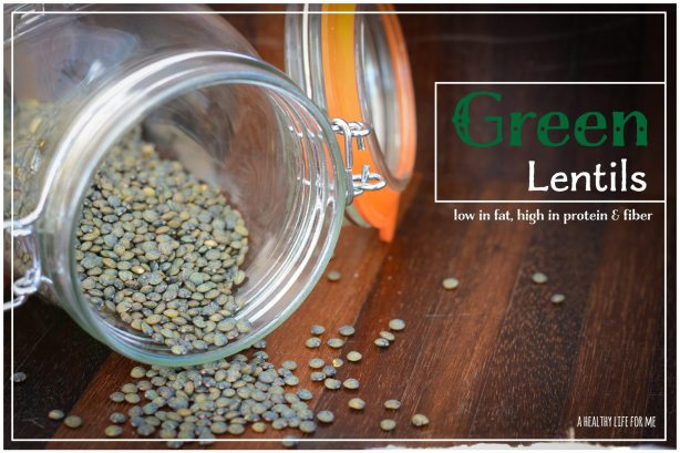 Green Lentils for Lentil Kale Chicken Soup Healthy Recipe