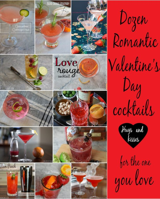 Dozen Romantic Valentine's Day Cocktail Recipes
