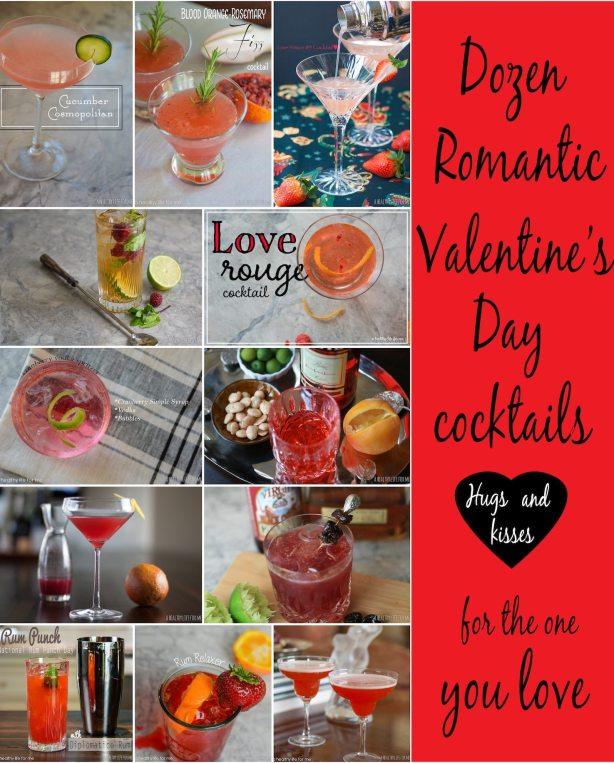 Dozen Romantic Valentine's Day Cocktail Recipes