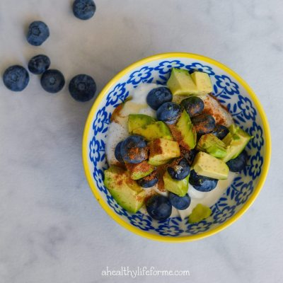 Blueberry Avocado Superfood Parfait