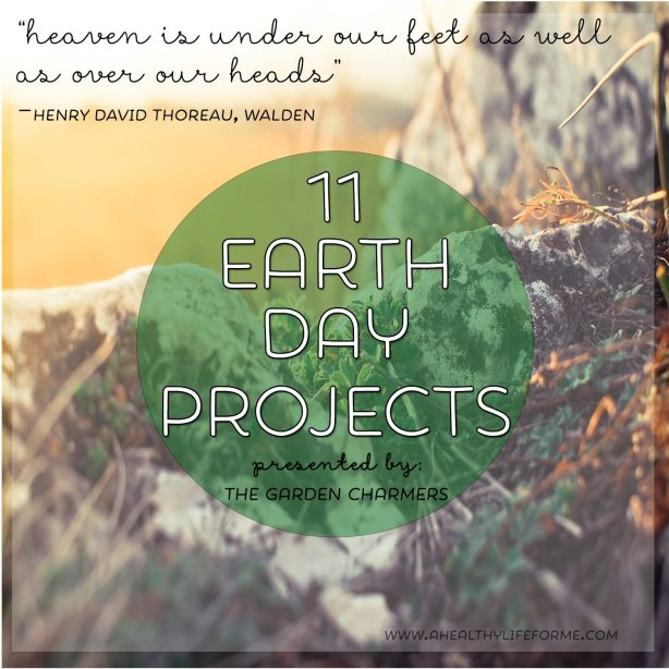 #EarthDayProjects 11 Earth Day Projects from The Garden Charmers | DIY Eggshell Planters