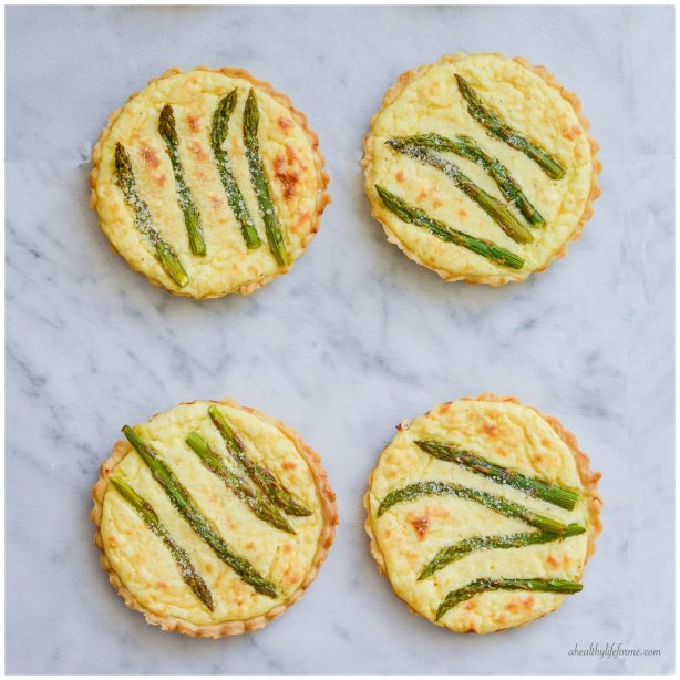 Asparagus Lemon Tartletes