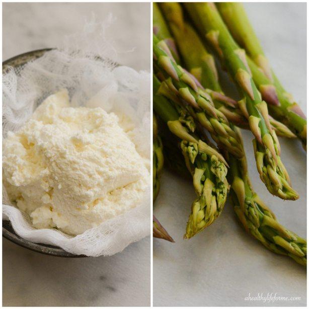 Ricotta and Asparagus