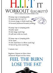 HIIT Workout | ahealthylifeforme.com