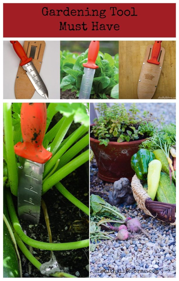 Gardening Tool Must Have Hori-Hori | ahealthylifeforme.com