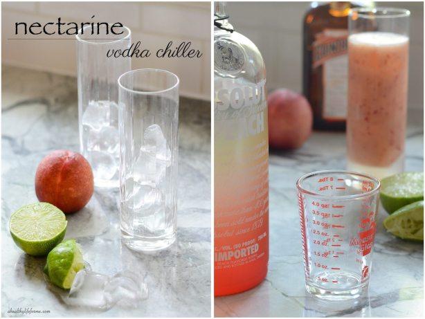 Nectarine Vodka Chiller Recipe   ahealthylifeforme.com