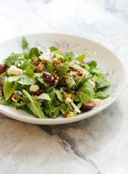 Spinach Cherry Salad Recipe