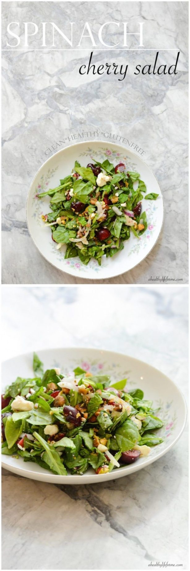 Spinach Cherry Salad