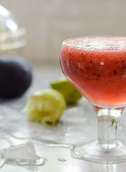 Plum Pop Cocktail
