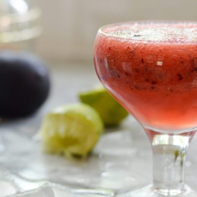 Plum Pop Cocktail
