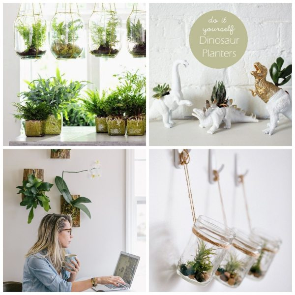 DIY House Planters for Fall