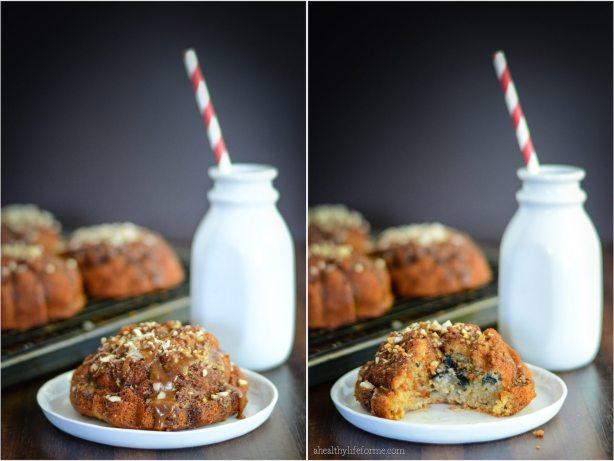 Gluten Free and Paleo Fig Cake with Coconut Vanilla Glaze   ahealthylifeforme.com