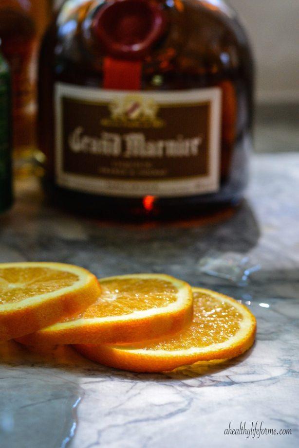 Halloween Cocktail Jack-O'-Lantern Recipe | ahealthylifeforme.com