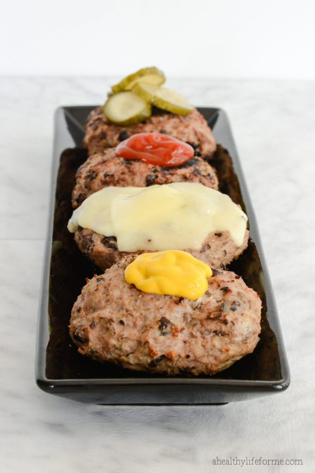 Turkey Black Bean Burger Recipe | ahealthylifeforme.com