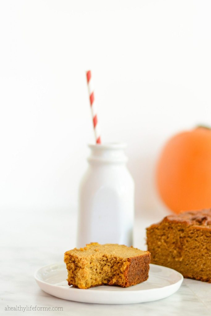 Paleo Gluten Free Pumpkin Bread Recipe   ahealthylifeforme.com