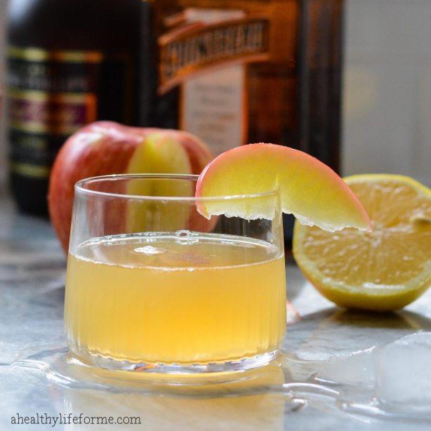 Apple Sidecar cocktail Recipe | ahealthylifeforme.com