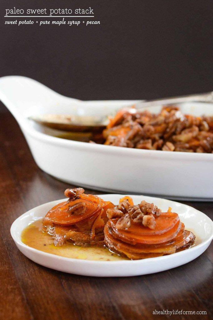 Paleo Sweet Potato Stack | ahealthylifeforme.com