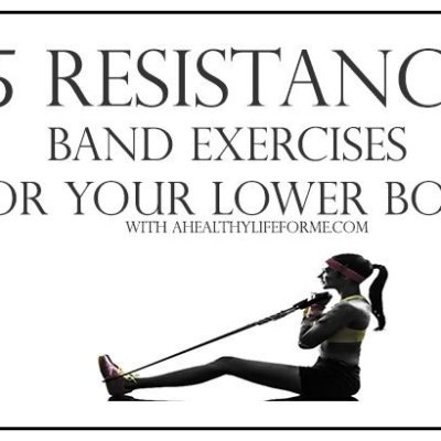 5 Resistance Band Exercises for Your Lower Body