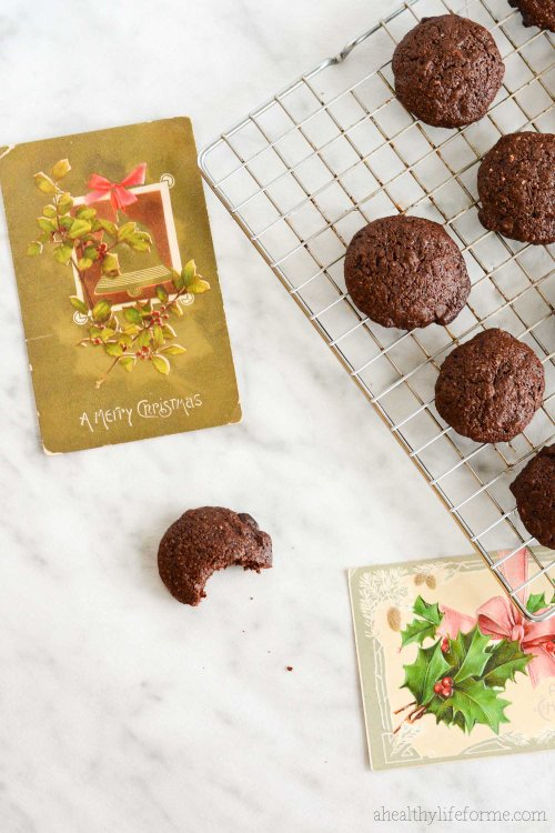 Gluten Free Chocolate Peppermint Cookie Recipe   ahealthylifeforme.com