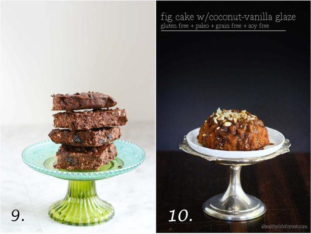 10 Heathy Dessert Recipes for your healthy life gluten free paleo grain free dairy free | ahealthylifeforme.com
