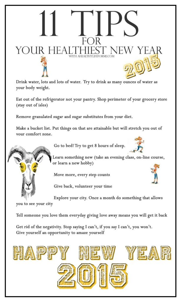 How To Have Your Healthiest New Year Ever   ahealthylifeforme.com