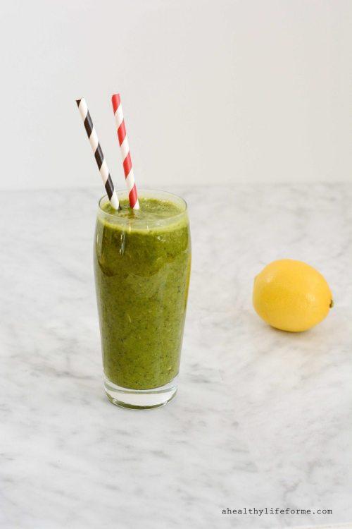 Kale Green Smoothie Recipe Gluten Free, Dairy Free Paleo