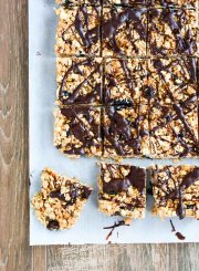 Healthy Rice Crispy Treats are gluten free and dairy free   ahealthylifeforme.com