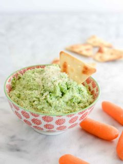 Broccoli Pesto Dip Recipe healthy clean and delicious | ahealthylifeforme.com